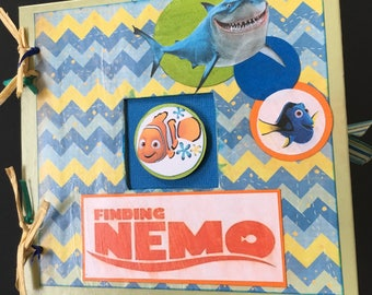 Altered Nemo & Friends Chipboard Book