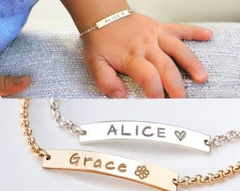 76e45514e6d67 Baby bracelet | Etsy