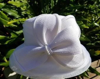 6dcedfb9c25 White church hat