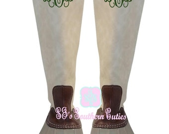 Womens Duck Boots Etsy