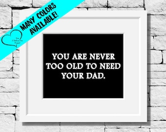 Superhero Dad Quote Dad Print Dad Gift Father Gift Quotes Etsy
