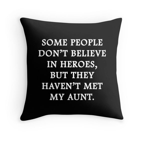 Aunt Gifts Aunt Quotes Aunt Cushion Gift For Aunt Aunt Etsy Delectable Ever Awesome Quotes