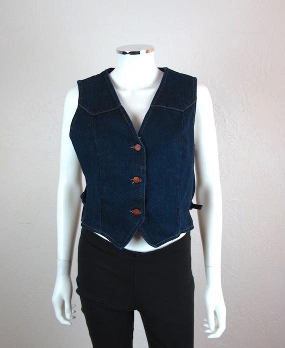 Vintage 80/90s Wrangler Denim Vest