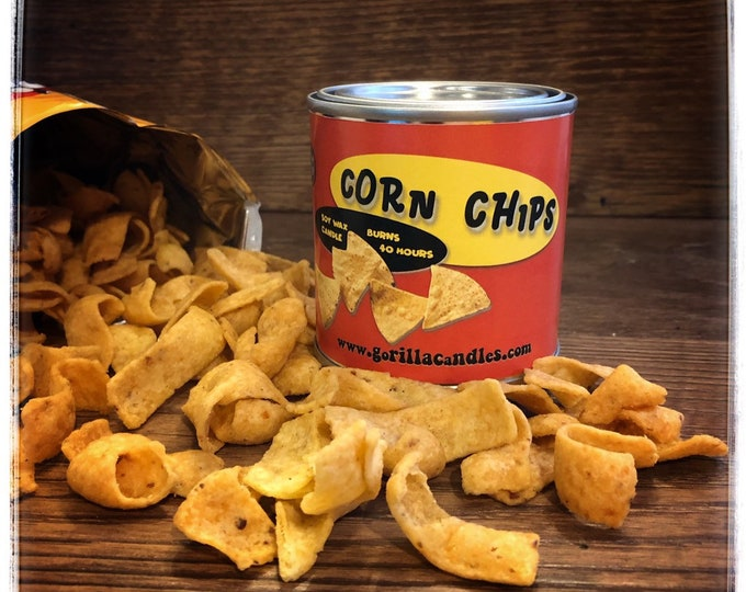 Fritos Corn Chips scented candle  Fun Adult Party Themed Gift Got the Munchies