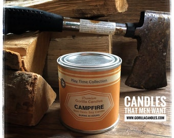 Campfire Bonfire candle