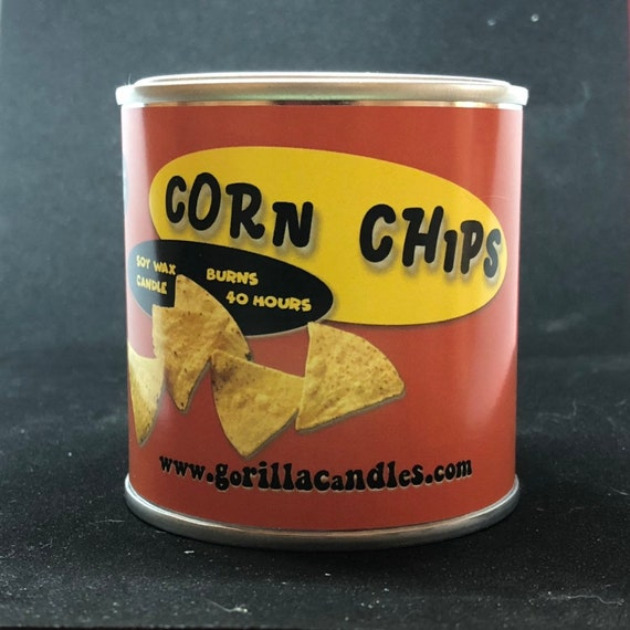 Got the Munchies. Fritos Corn Chips scented candle  Fun Adult Party Themed Gift