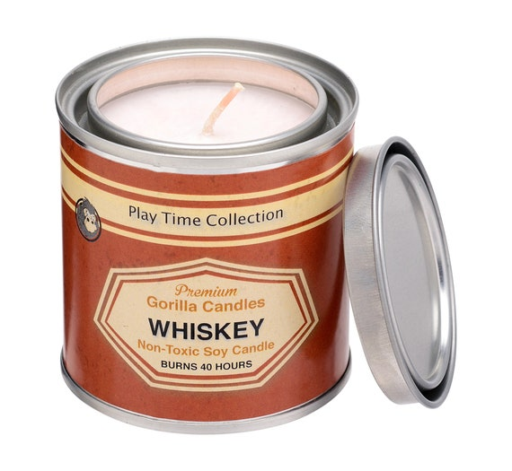 Aromatherapy Candle Whiskey Scented Candle Bourbon Candle Fun Cocktail Candles Long Burning Relaxation Gifts Bourbon Smash Booze Scented Soy Candle Cool Candles