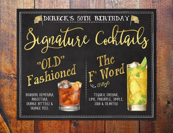 GRAB A GLASS FIRST DRINKS ARE FREE WEDDINGS PERSONALISED chalkboard style sign
