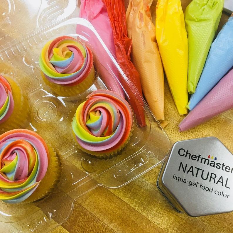 Chefmaster Natural Food Coloring Set | Etsy