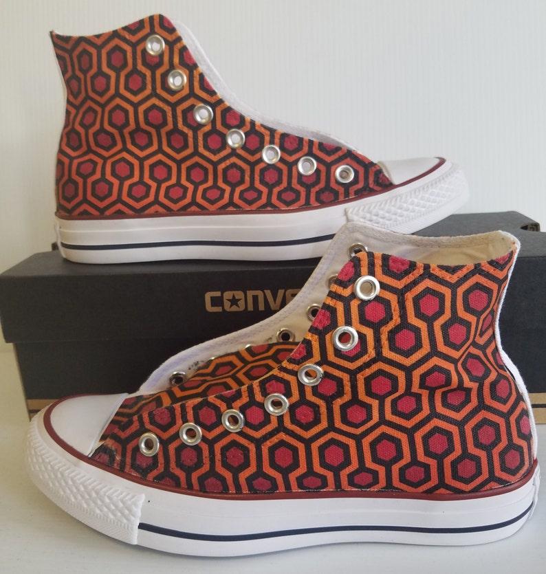 59f39bc781d4 The Shining Carpet Custom Converse All Stars