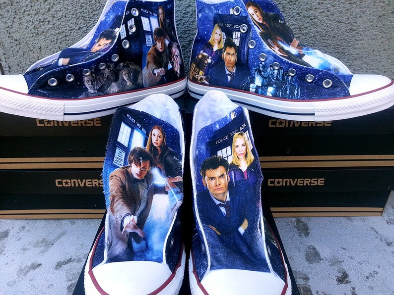 d9f59e62c99b Doctor Who Custom Converse All Stars