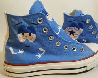 Towelie South Park Custom Converse All Stars