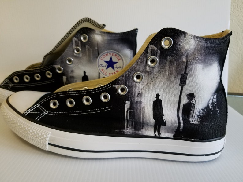 9e76d3c478c640 The Exorcist Custom Converse All Stars