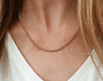 Classic Curb Chain in 14/20 Gold Fill
