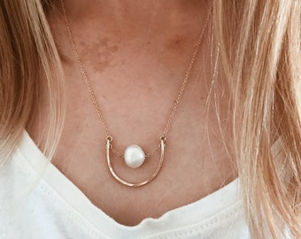 Freshwater Pearl Necklace in 14/20 Gold Fill