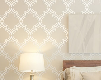 Large Wall Stencils For Painting Scandinavian Style By Stencilit