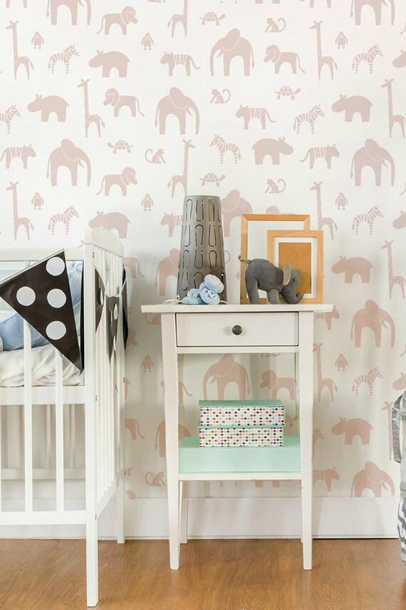 Herrlich wandschablonen babyzimmer glamouros schablonen for Wandschablone kinderzimmer