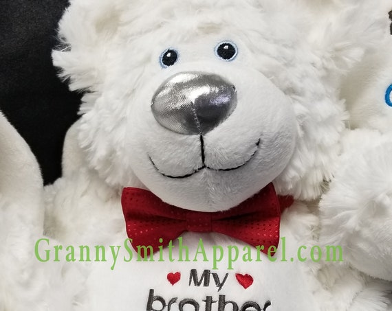 Angel bear stuffie with wings. **NEW DESIGN** Urn companion or covering. Grave decoration. Memorial Bear