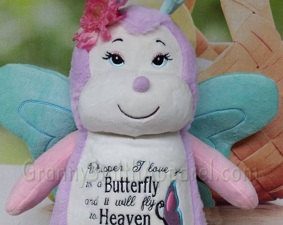 Child memorial / baby loss / passing customized. Personalized tummy embroidery designs. A unique way to remember that special little someone
