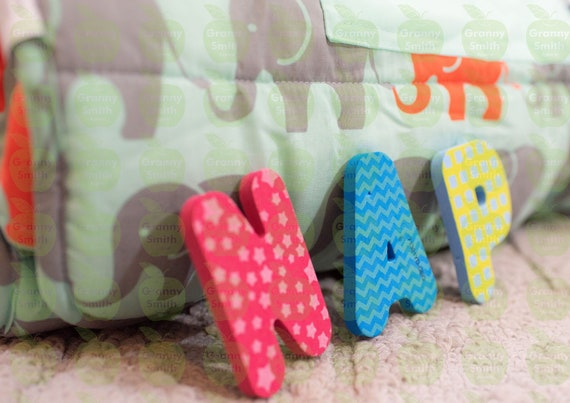 Nap mat customized with child's name. FREE SHIPPING Embroidered for daycare school. Toddler Preschool PreK Nap Mat Sleeping Bag with pillow.