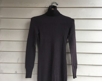 XS/S 90s Barneys cashmere dress