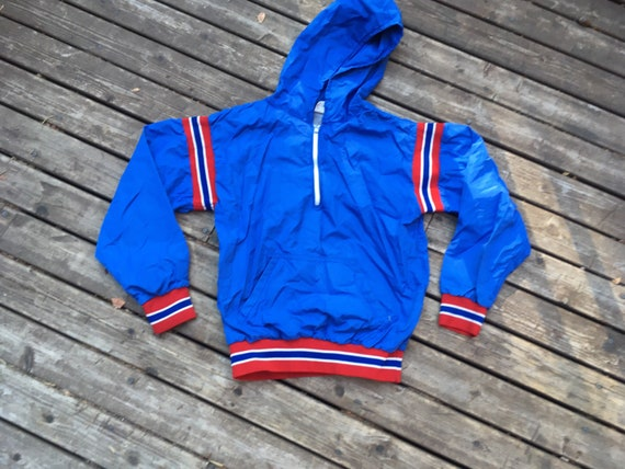 1970s Russell nylon jacket hoodie XS S size extra… - image 1
