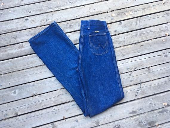 1970s Wrangler high waist jeans