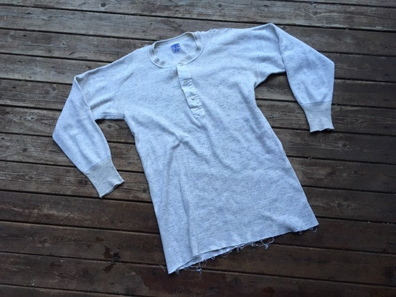 1920s undershirt thermal top warm winter Wright's