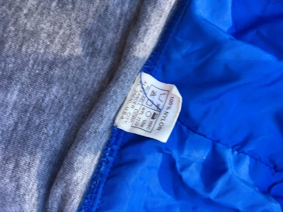 1970s Russell nylon jacket hoodie XS S size extra… - image 5
