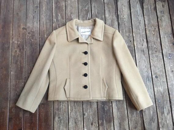SALE 1950s thick wool jacket Nicholas Ungar Ben Zu