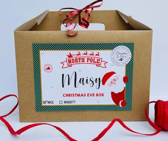 Christmas Eve Box | Christmas Gift Box | Personalised Christmas Box | Santa Hamper | Night Before Xmas | Childrens Christmas Eve Box | Santa