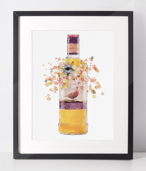Whiskey Poster | Room Decor | Wall Art Print | Fathers Day Gift Idea | A4 & A3 | Scottish | Print Only