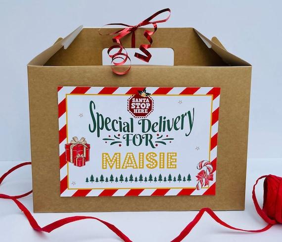 Christmas Eve Box | Christmas Gift Box | Personalised Christmas Box | Santa Hamper | Night Before Xmas | Childrens Christmas Eve Box | Del