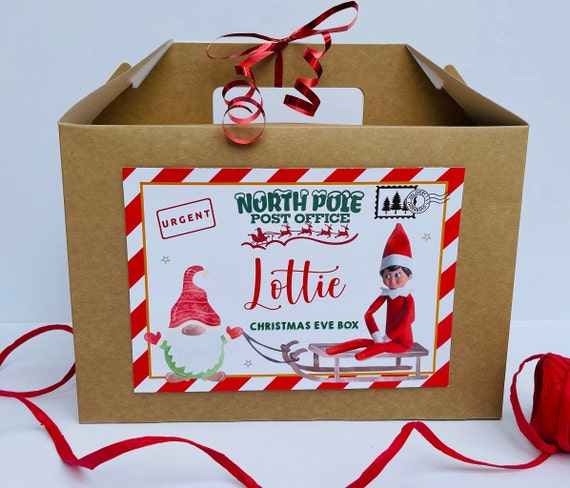 Christmas Eve Box | Christmas Gift Box | Personalised Christmas Box | Santa Hamper | Night Before Xmas | Childrens Christmas Eve Box | Elf