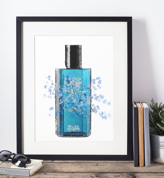 Aftershave Poster | Room Decor | Wall Art Print | Gift Idea | A4 & A3 | Water| Print Only