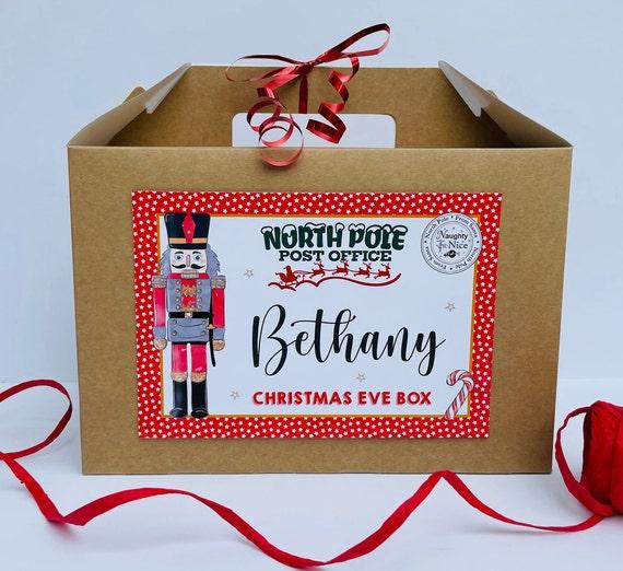 Christmas Eve Box | Christmas Gift Box | Personalised Christmas Box | Santa Hamper | Night Before Xmas | Childrens Christmas Eve Box | Nut