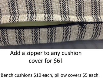 Custom Bench Cushion Etsy
