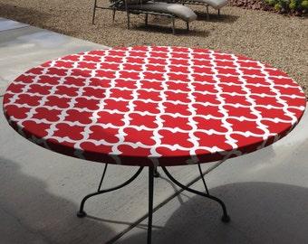 Elasticized Tablecloth Etsy