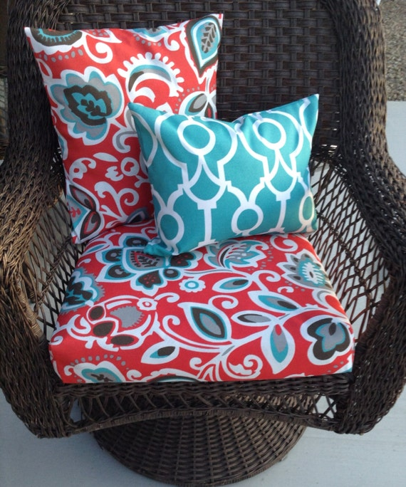 image 0 - Replacement Outdoor Furniture Cushion Covers Outdoor Pillow Etsy