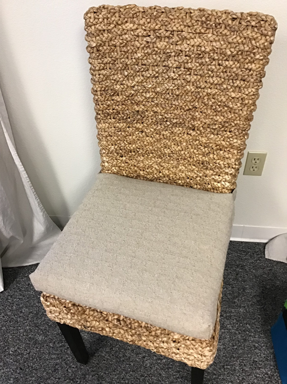 Rattan Or Wicker Chair Cushions Denton, Wicker Chair Cushion Slipcovers