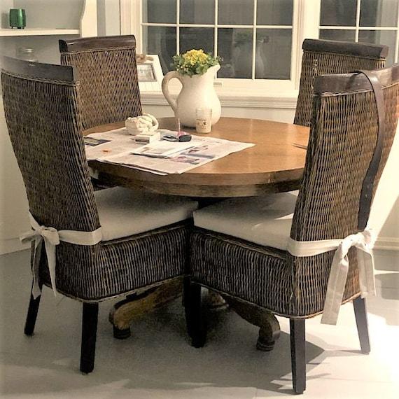 Rattan Or Wicker Chair Cushions Premier, Wicker Dining Room Chair Cushions