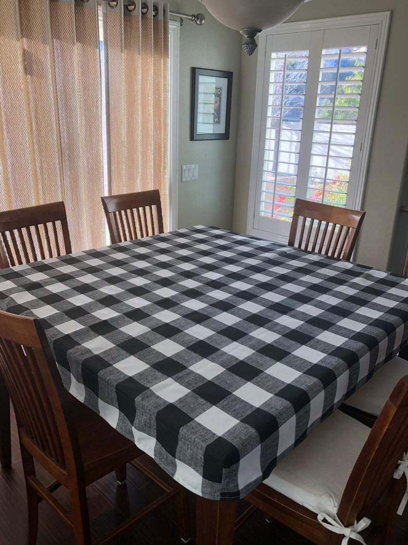 Square tablecloth fitted fits 36 42 and 54 image 3