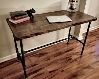 Steel and Wood Desk - Free Shipping