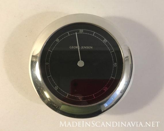 Georg Jensen VENUS Thermometer  silver/black