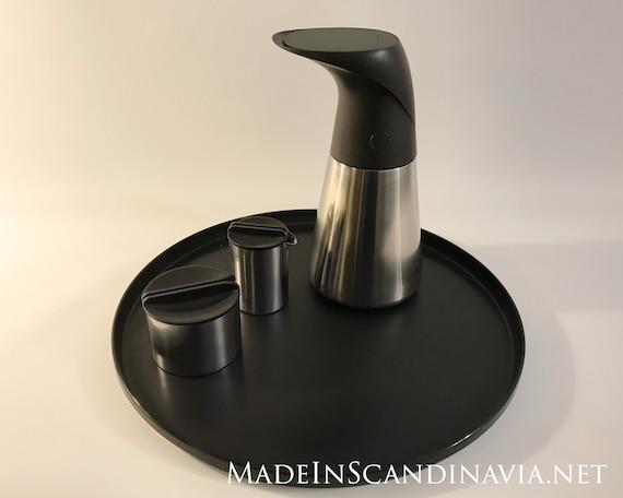 Stelton EM serving tray - black