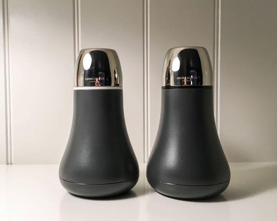 Georg Jensen GEMINI Salt and Pepper grinders- set