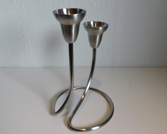 Georg Jensen Swing candle holder - double - Matte