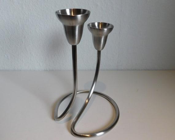 Georg Jensen Swing candle holder - double - Matte