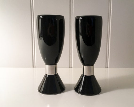 Erik Bagger Salt and Pepper set - Black