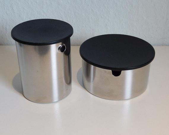 Stelton Erik Magnussen Sugar & Creamer set, stainless steel
